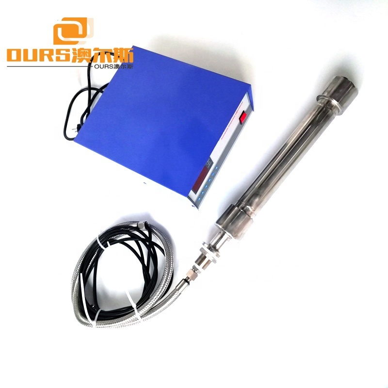 25KHz High Frequency Fully Immersible Ultrasonic Transducer Vibration Rods 1500W Ultrasonic Shock Stick Easy Cleaning