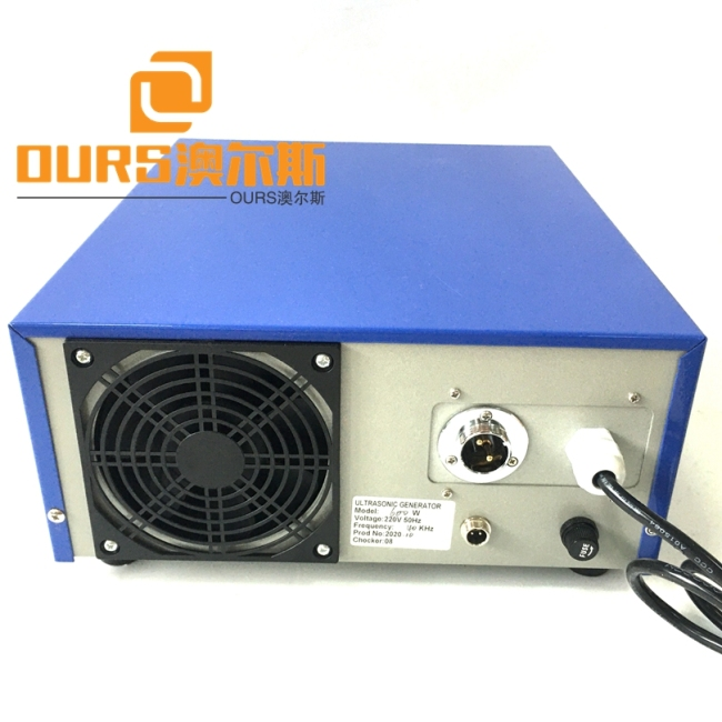Ultrasonic Transducer 28Khz 600W Generator For Cleaning Motor Piece