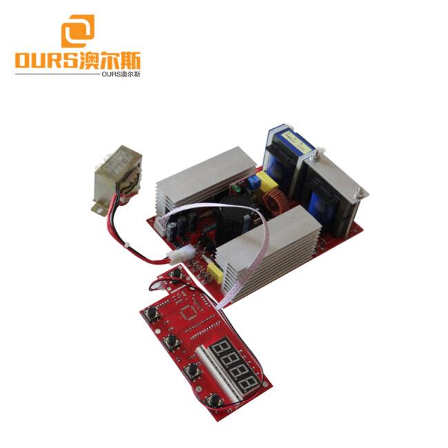 Ultrasonic generator PCB +display board 300W ,Portable Ultrasonic Transducer Driver / Display PCB Board For Ultrasonic Cleaner