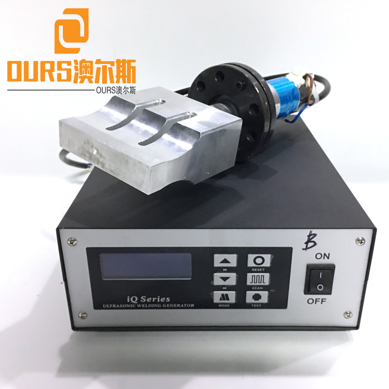 Best-selling Turkey and India 20khz Ultrasonic welding generator For Fully Automatic Inner Earloop Non Woven Medical Face Mask