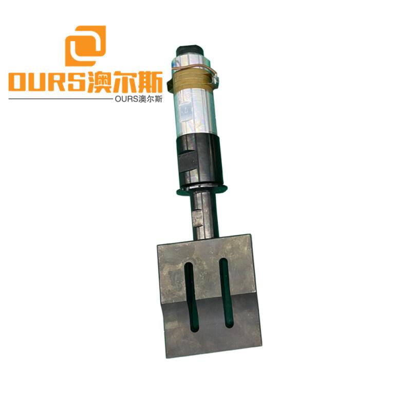 15khz/20khz ultrasonic generator transducer and 110*20mm horn for  welding