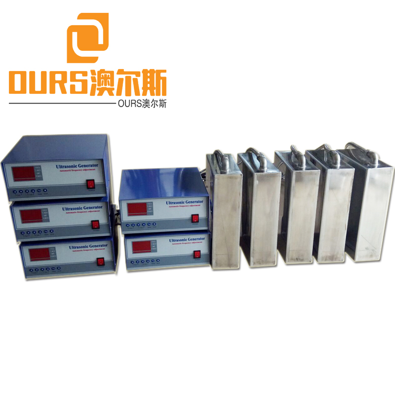 135KHZ 1000W High Frequency Flexible Installation Industrial Submersible Ultrasonic Cleaner For Cleaning Tank