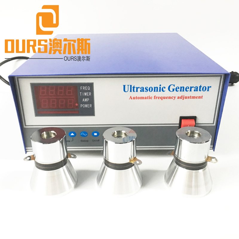 0-1200W 70KHZ/80KHZ/100KHZ/120KHZ/135KHZ/200KHZ High Frequency Ultrasonic Cleaner Power Supply For Medical Industry