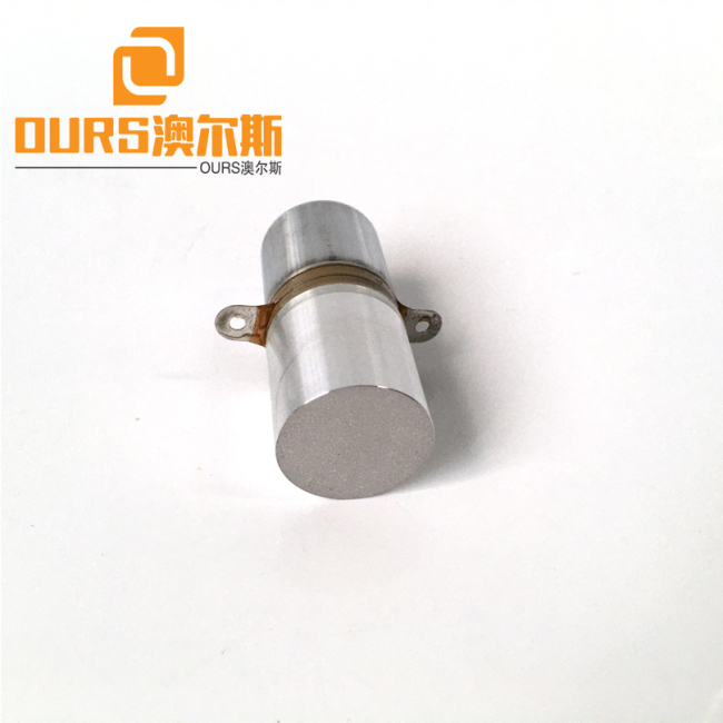 40KHZ 20W PZT8 High Performance Piezoelectric Welding Transducer Without Hole For Ultrasonic Welding Devices