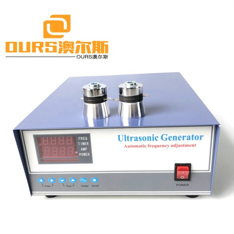 Frequency And Power Adjustable Ultrasonic Generator Digital Circuit Cleaning Generator 600W 17K To 40K Frequency Optional