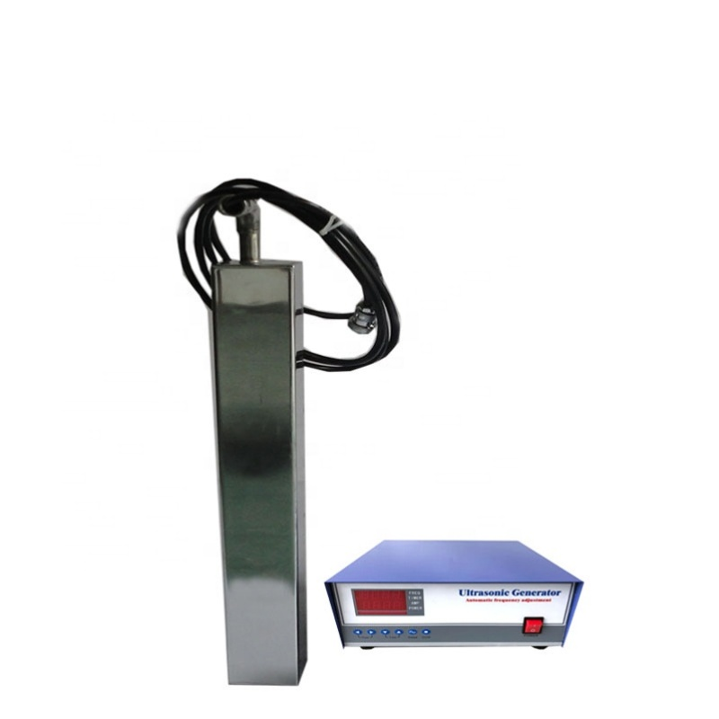 900W Waterproof Submersible Industrial Ultrasonic Cleaners Immersible Ultrasonic Transducer Pack