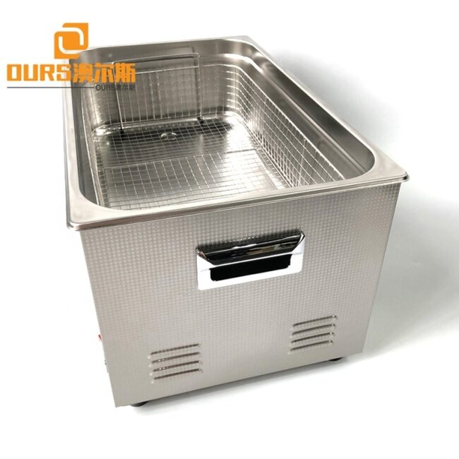 Heating Power 500W 40K Medical Ultrasonic Cleaner For Pipe / Glass Container / Esophagoscope With Filter Valve