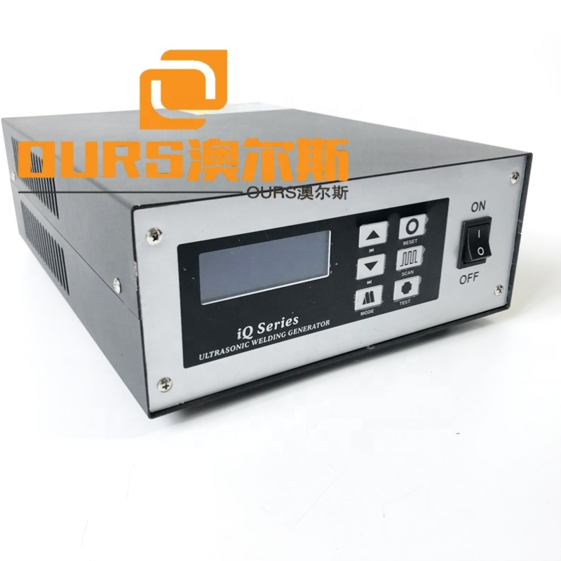 2000W Ultrasonic Aseptic Cup N95 Non Woven Dust Mask Sealing Machine Ultrasonic Generator And Converter With Horn