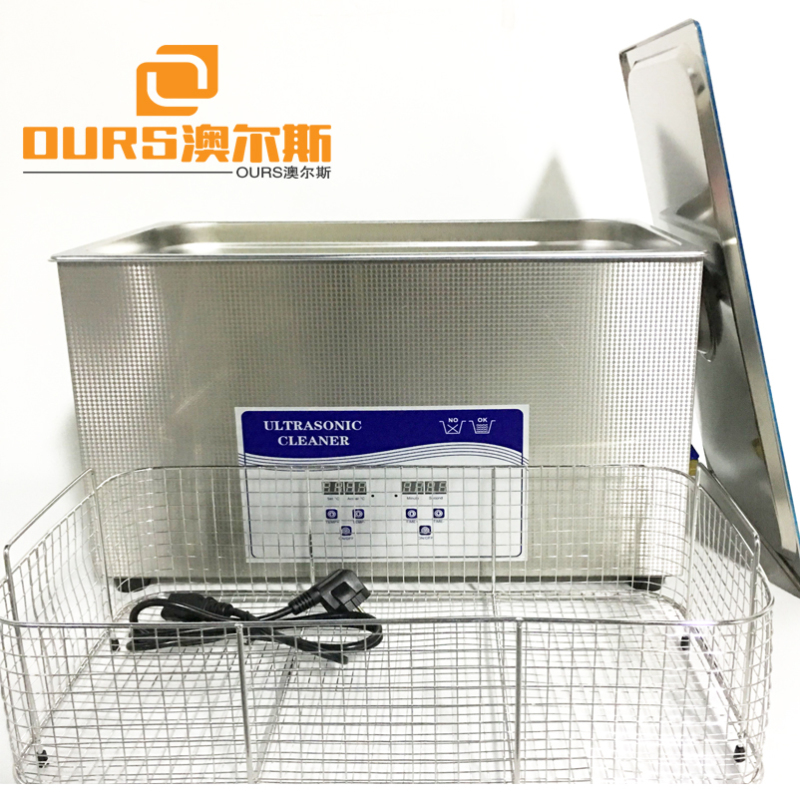20L  40 KHz Lab Ultrasonic Cleaner Tank For Scientific Instruments  Digital Heated  Ultrasonic Cleaner