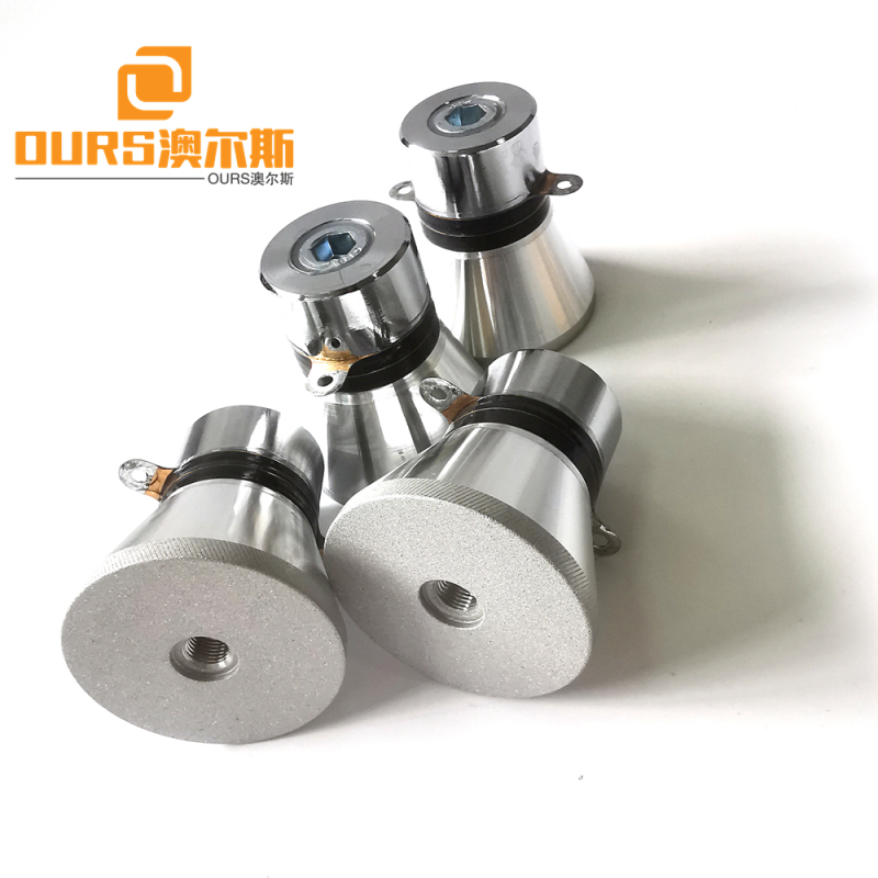 28khz 60w pzt4 Ultrasonic Transducer For Cleaner Cleaning of Measuring Tools