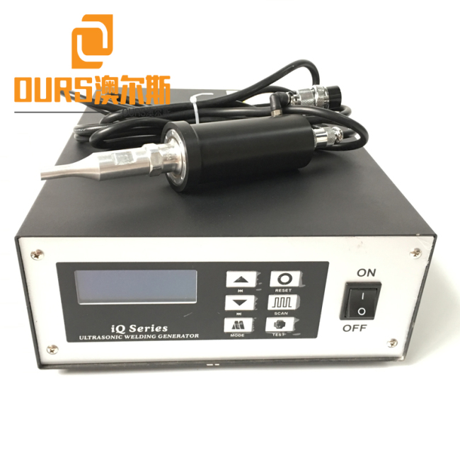 10 Types Welding Heads Portable Handheld 35KHZ ultrasonic spot welding machine for Welding ear straps