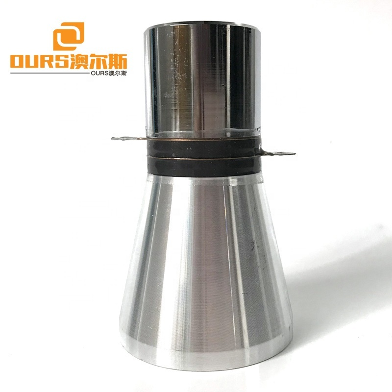 20KHz Low Frequency Ultrasonic Transducer 50W PZT-4 Ultrasonic Transducer For Cleaning Machine