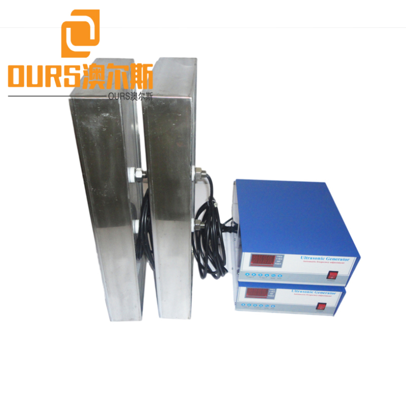 2000W 40khz/28khz Custom Underwater Ultrasonic Cleaning Submersible Box High Efficiency For Industrial cleaning