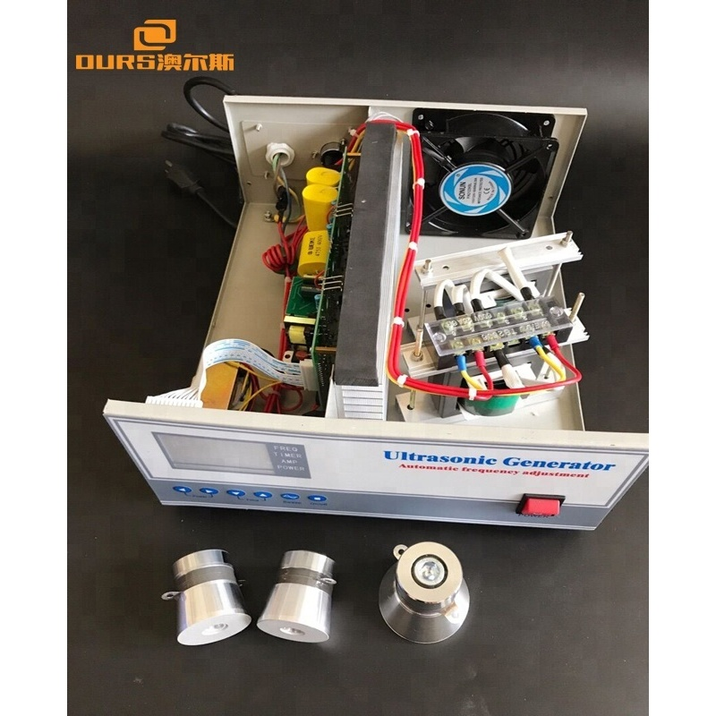 900Watt Ultrasonic Waveform Generator 20KHZ-40KHZ Adjustable Ultrasonic Cleaning Generator