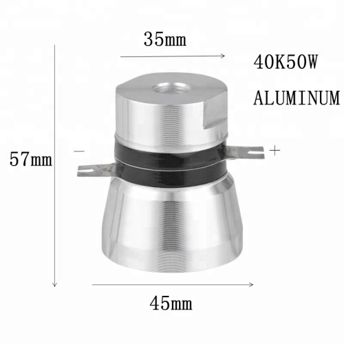 50W 40KHZ High Quality and Performance  Piezo Transducer
