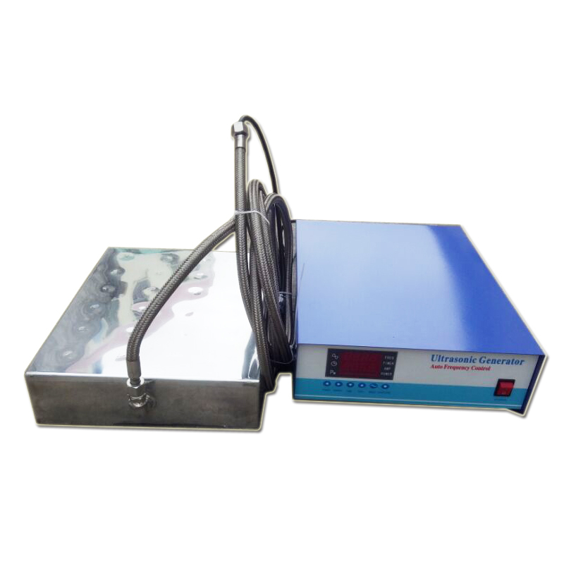 28KHz/40KHz Waterproof Ultrasonic Transducer Stainless Steel 316L Vibration Plate Ultrasonic Immersible Transducer Pack