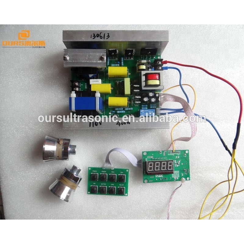 FCC &CE 28khz/40khz frequency adjustable Ultrasonic generator PCB