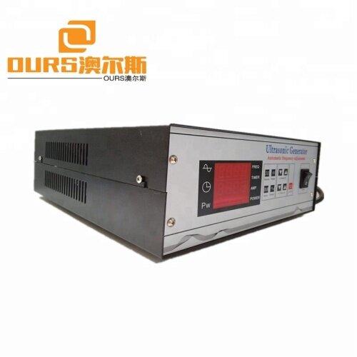 1800w Digital Ultrasonic Driver From 17Khz to 40Khz Ultrasonic Cleaning Generator