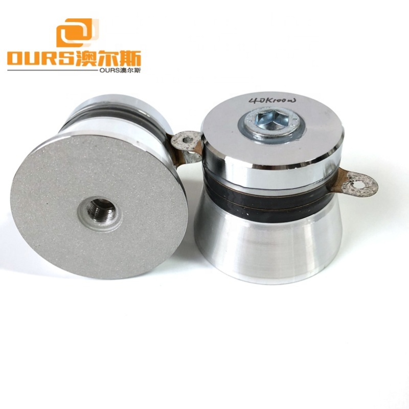 100W Top-rated 40KHz Piezoelectric Vibration Sensor Ultrasonic Transducer Cleaning