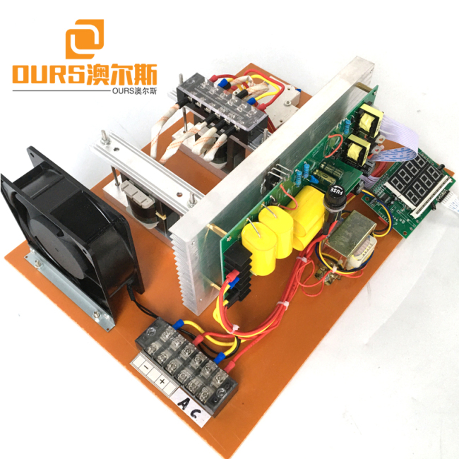 0-2400W Power Adjustable Piezoelectric Digital Ultrasonic Generator PCB Drive For Cleaning Electronic Parts