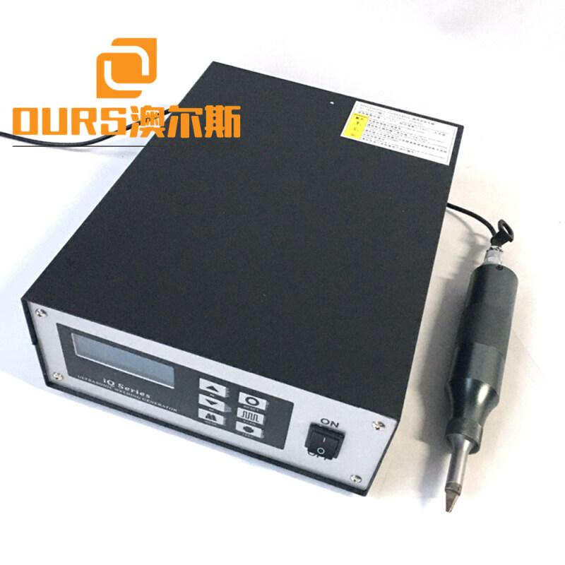 30K ultrasonic satin ribbon cutting machine For Plastic Deburring/Trimming