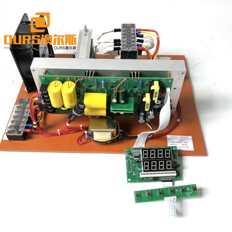 Industry Cleaner Driving Electronic Board Ultrasonic Generator PCB/Power Source 17K To 40K Frequency Optional For Cleaning