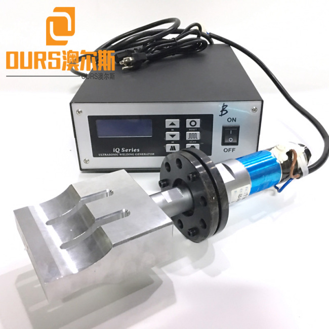 20KHZ 1500W high power disposable medical face masks Ultrasonic Welding generator with horn