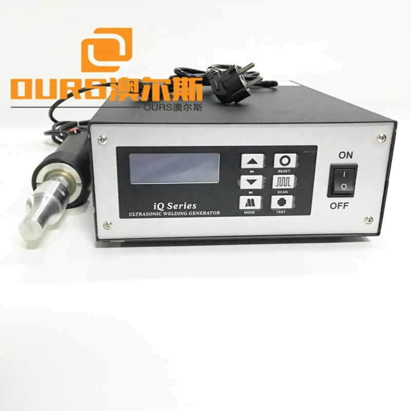 28K 500W/800W Ultrasonic Face Mask Ear Loop Spot Welding Making Machine With Generator And Transducer With Horn