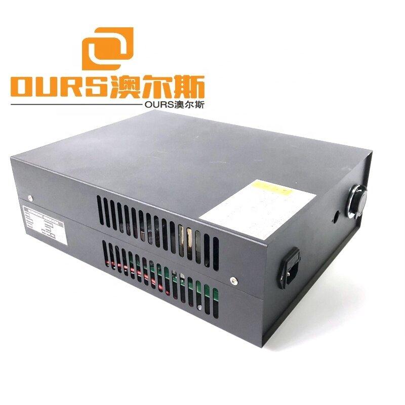 900Watt Small Industrial Ultrasonic Plastic Spot Welding Machine 40KHZ For Textile Inserts Rear Panels Voltage 220V-230V AC 50HZ