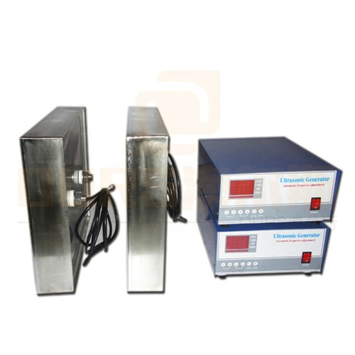 Waterproof Ultrasonic Transducer Pack With Generator For Ultrasonic Vvbration Cleaning Tank In Producing Wine And Olive Oil