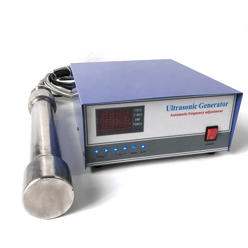 1500W Industrial Submerged Ultra Wave Vibration Reactor Tube Ultrasonic Cleaner Reactor  Refine Biodiesel From Scavenge Oil
