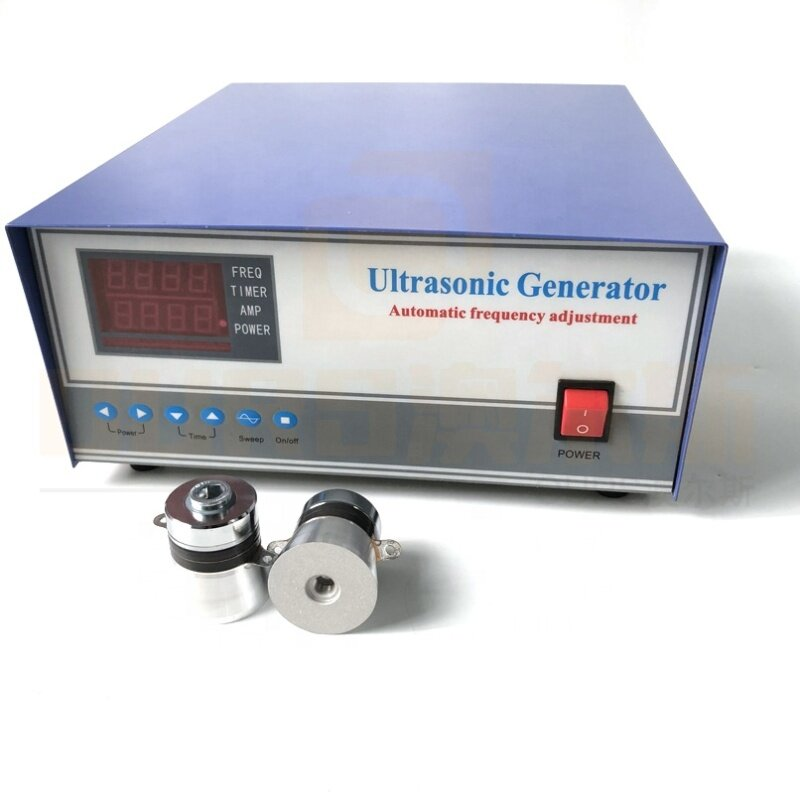 1000W Reliable Industrial General Cleaner Power Equipment Portable Ultrasound Power Generator With Power/Time Adjustable 17K-40K