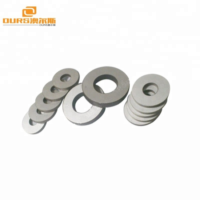 50*17*5mm PZT8 Ring Piezoceramic for ultrasonic welding transducer and ultrasonic cleaning transducer