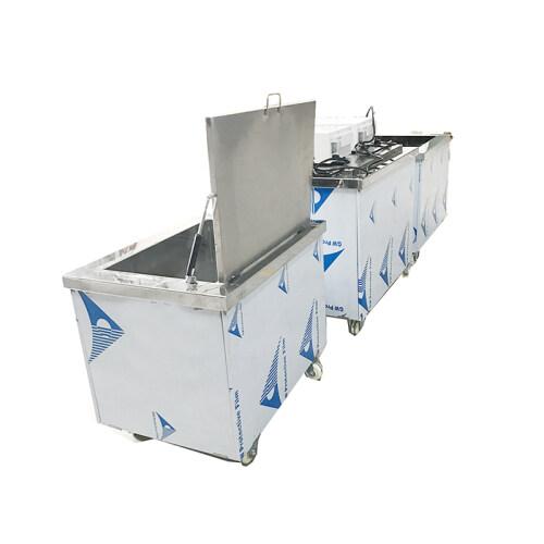 ultrasonic cleaner mobile cleaning tank restaurant soak tanks for dishes trays degreasing 25khz 28khz High Power Cleaning