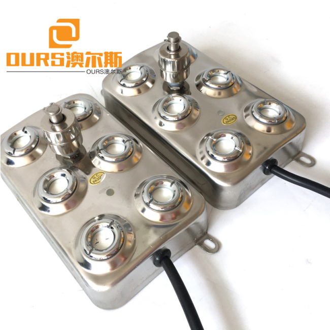 10 Head Ultrasonic atomization transducer for food preservation