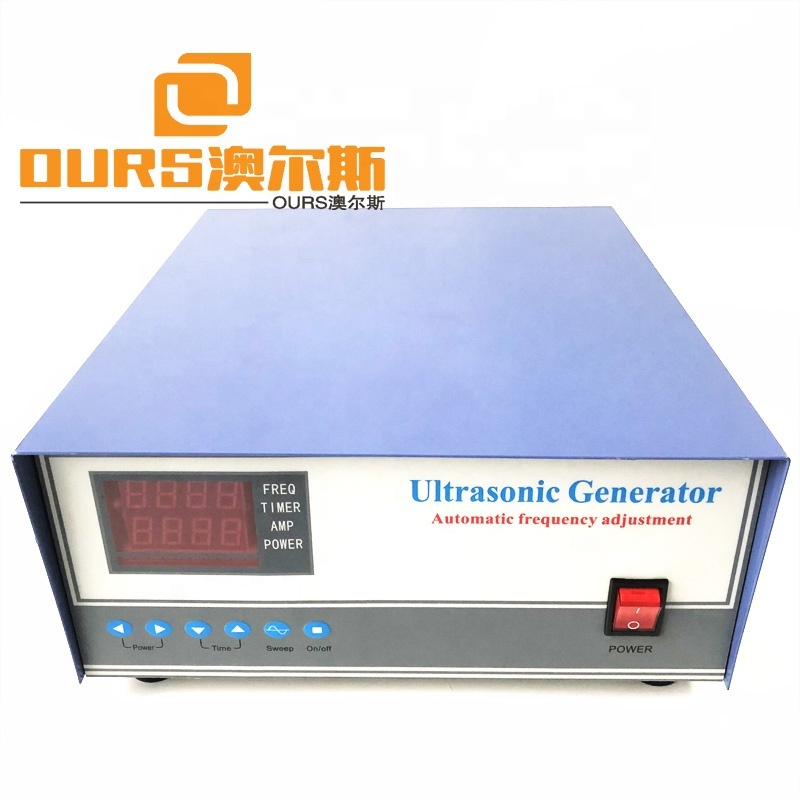 High Frequency Pulse Ultrasonic Cleaner Generator  68KHz Ultrasonic Vibrator Driver Industrial Cleaning