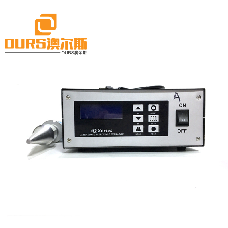 20khz ultrasonic welding transducer Ultrasonic plastic welding machine for coffee machine plastic parts