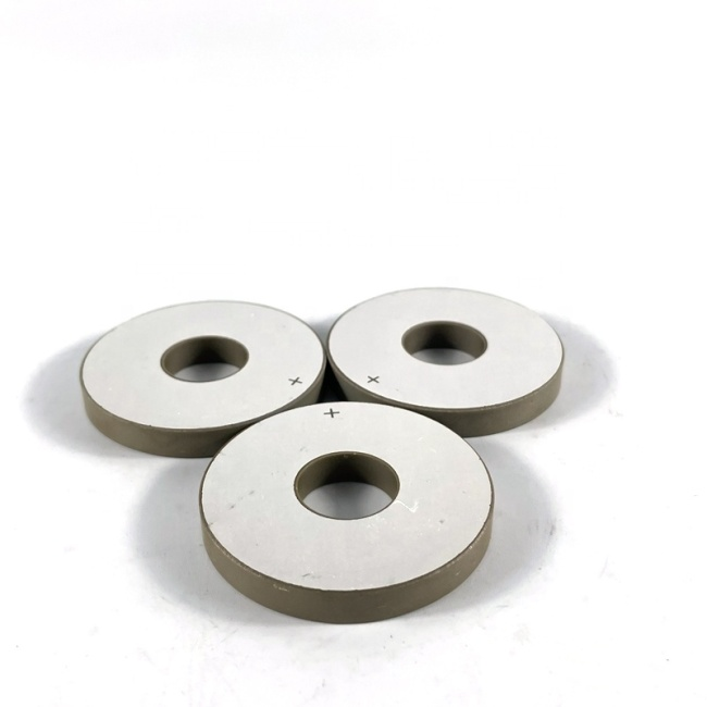Various Size Ultrasonic Piezo Element PZT Ceramic Ring Piezoelectric Crystal Ring Pzt4 For Cleaning Sensor Emitter