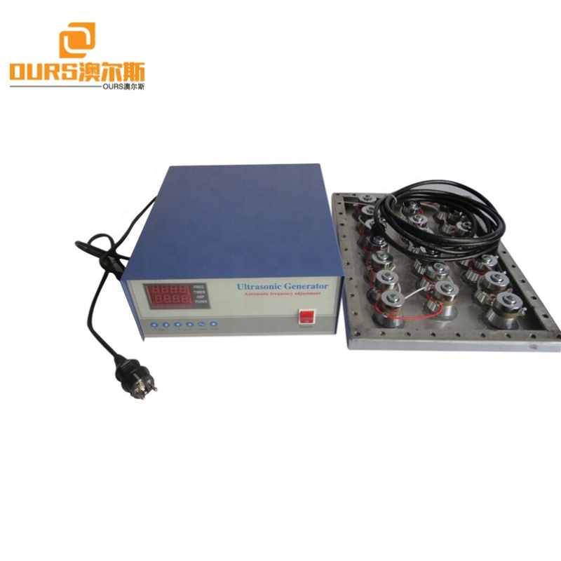 600W Side-Type Immersion Ultrasonic Cleaner Submersible Underwater Ultrasonic Transducer Ultrasonic Vibrating Plate