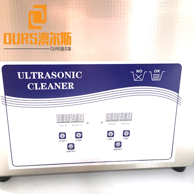 40KHZ 15L Factory Sales Digital Heated Ultrasonic Cleaner For Watch Shop