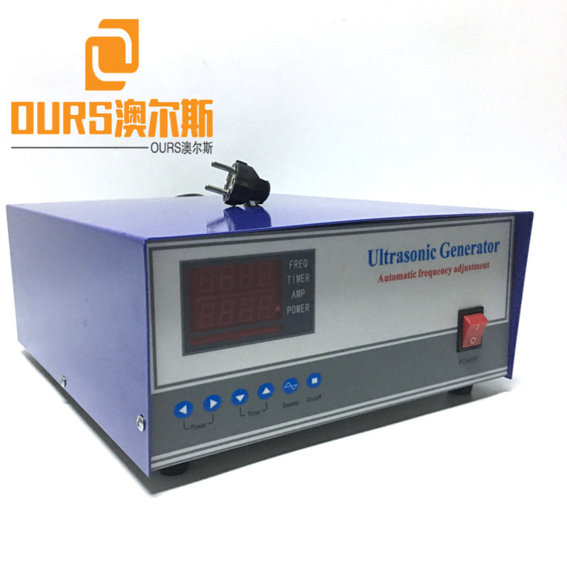 28khz/40KHz 1800W Ultrasonic Cleaning Generator With Tracking Frequency For Dishwasher