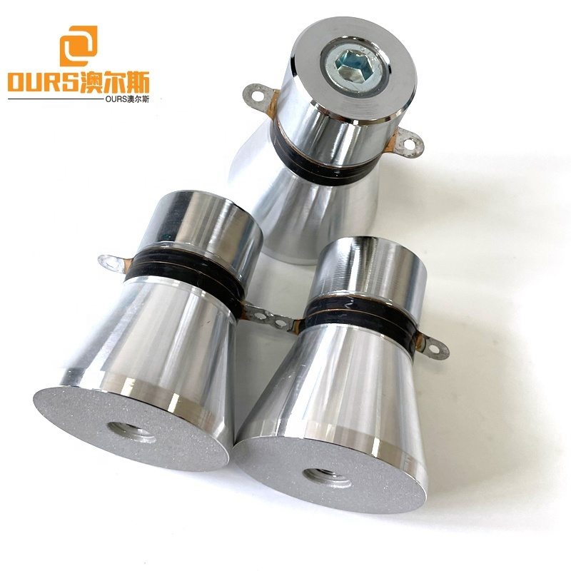 25Khz 28Khz 33Khz 40K 68Khz 80Khz 100Khz 200Khz Piezo Vibration Ultrasonic Transducer For Making Industrial Cleaner Parts
