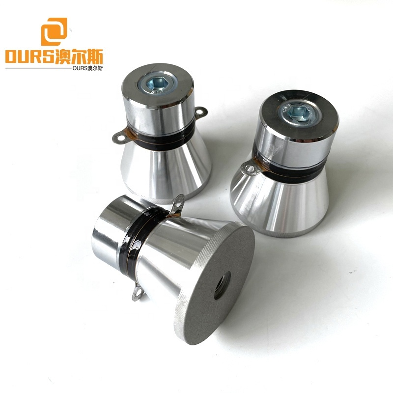 28Khz 60W Piezoelectric Ceramic Transducer Ultrasonic Cleaner Transducer Parts Used On Ultrasonic Cleaning Machine Bath