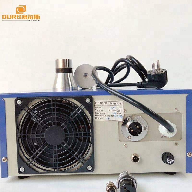 300W Frequency adjustable ultrasonic generator, 28khz Ultrasonic Signal Generator for industry ultrasonic cleaner