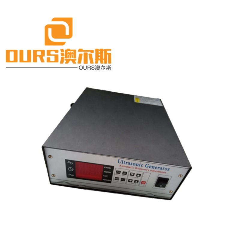 2000W 220V Digital Frequency From 20khz to 40khz And Automotive Ultrasonic Cleaning Machine Generator
