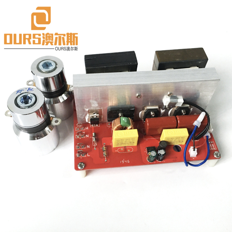 500W 25KHZ/28KHZ/40KHZ diy Ultrasonic Sound Generator PCB For Cleaning Machinery Accessories