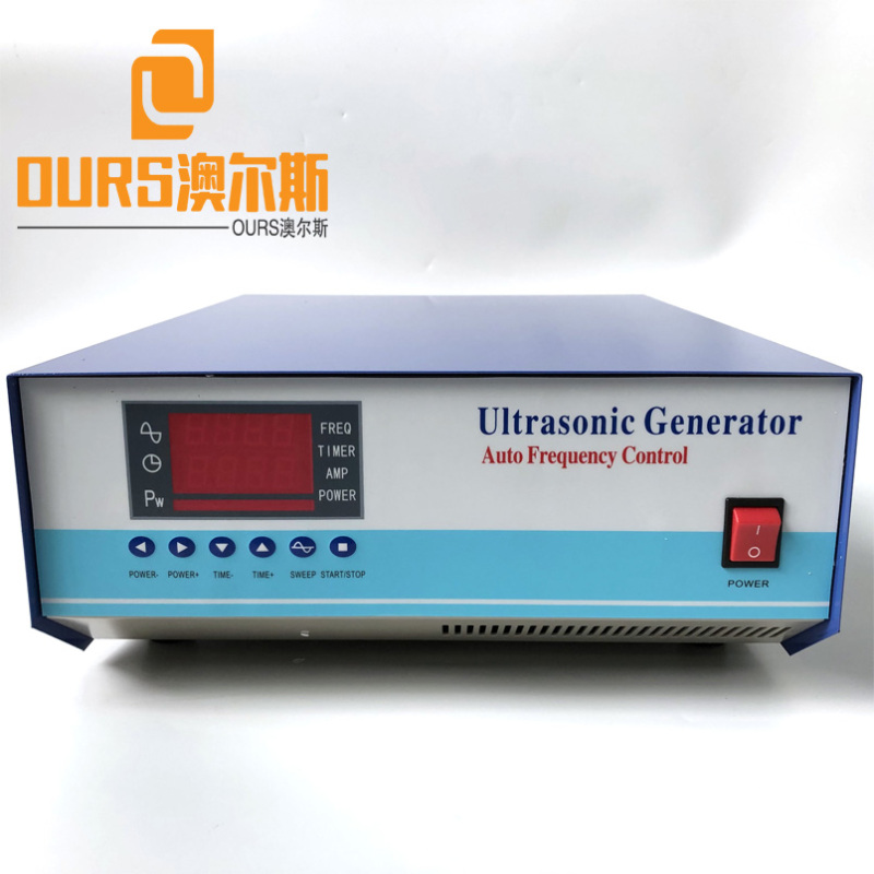 25KHZ/45KHZ/80KHZ 1200W Multi Frequency Automatic Frequency Control Ultrasonic Generator For Cleaning Equipment Parts