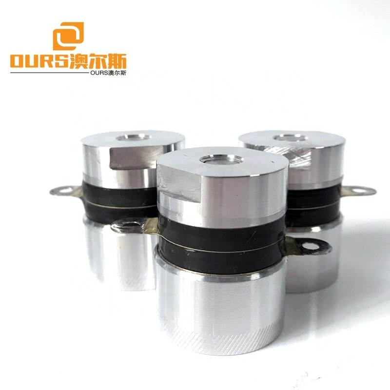 PZT-4 35Watt 54KHz High Frequency Piezoelectric Ultrasonic Transducer For Industrial Cleaning