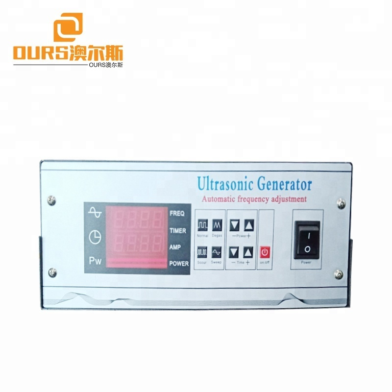 Pulse cleaning &Continuous cleaning  Switchable with Degassing timer&power adjust Ultrasonic generator for cleaning