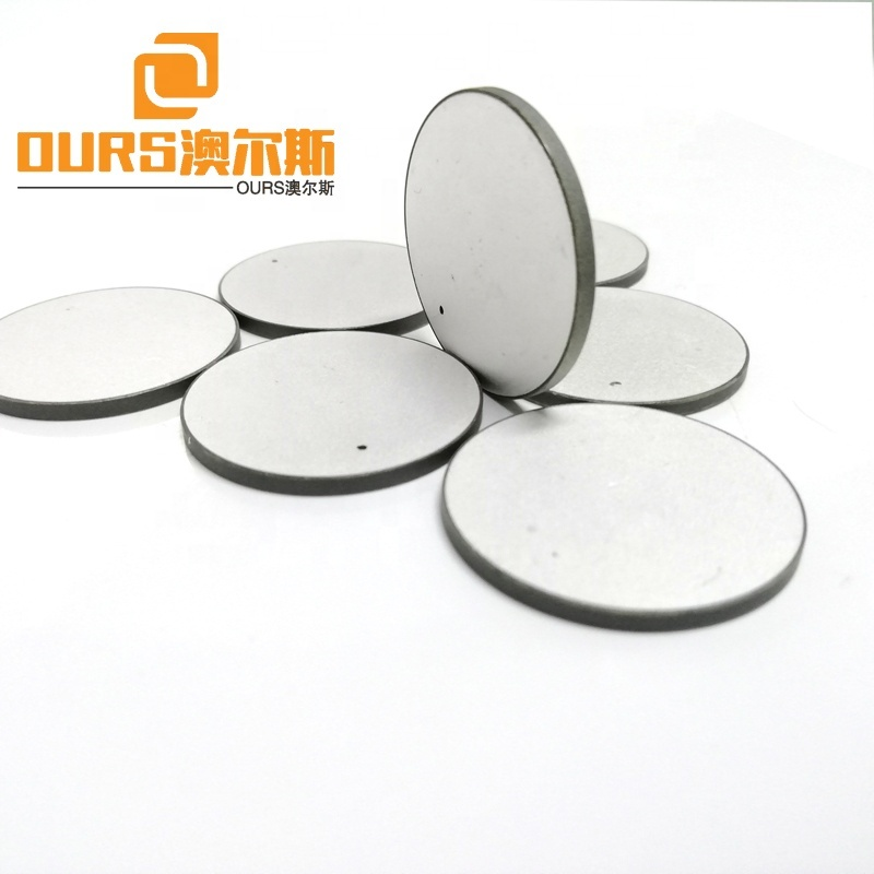 High Efficiency Piezo Ceramic Disc Round Shape 30 X 2mm With P4 Material As Transducer Piezo Ultrasonic Element For Cleaning